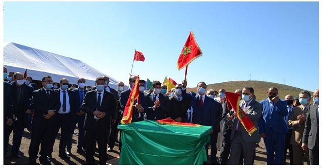 """السيد عبد القادر اعمارة يطلق أشغال بناء بدال """"المسيرة"""" على مستوى الطريق السيار الدار البيضاء – مراكش"""