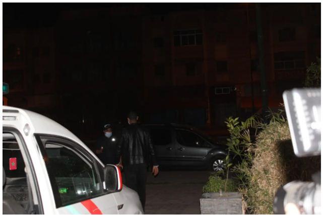 اعتقالات وحجز ممنوعات بعد مداهمة مقهى للشيشا بمراكش+ صور