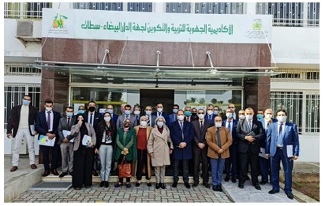 مدير الأكاديمية الجهوية للتربية والتكوين لجهة الدار البيضاء سطات يشرف على تنصيب المديرين الإقليميين الجديدين