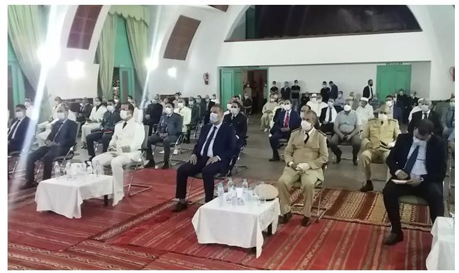 إقليم إفران/ عامل إقليم افران يترأس مراسيم الانصات للخطاب الملكي