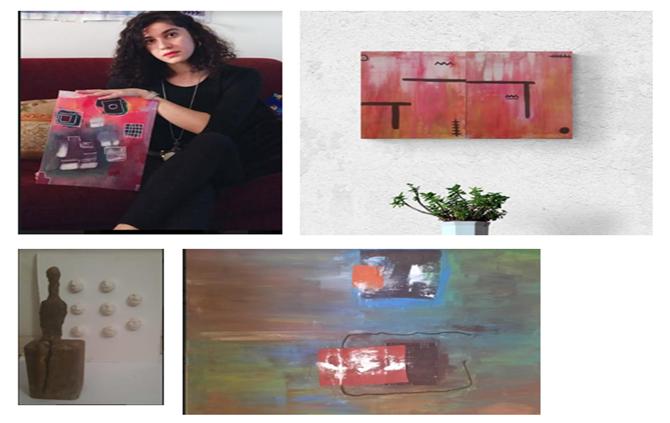 الفنانة والنحاتة سميرة دباح .. عملي يمتد إلى مختلف الفنون الجميلة
