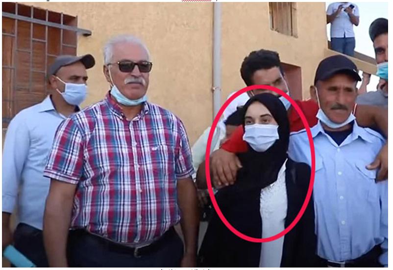 التلميذة الهام بلكاس أصغر رئيسة مجلس جماعي بالمغرب